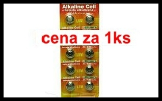 357a   1.5V (cena za 1 ks) blistr 10 ks