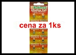 377a   1.5V (cena za 1 ks) blistr 10 ks