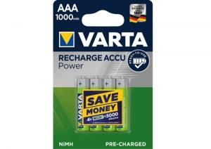 Baterie AAA R03 1000mAh Varta ready2Use B4