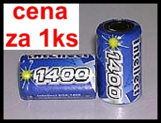 H28A-1400 Intellect 1400mAh 1.7Wh NiMH 1.2V