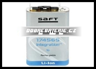 MP 174565 Saft 4800mAh 18.0Wh Li-Ion 3.75V