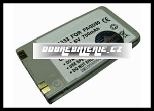Panasonic GD90 650mAh Li-Ion 3.6V