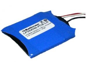 LP354050 2.7Wh 720mAh Li-Polymer 3.7V 3.5x40x50mm PCM +