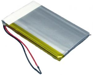 LP325085 1400 mAh 5,2 Wh Li-Polymer 3,7 V 3,2 x 50 x 85 mm + PCM