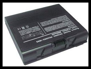 Toshiba Satellite 1950 6600mAh Li-Ion 14,8V
